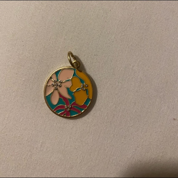 Lily Pulitzer charm for necklace